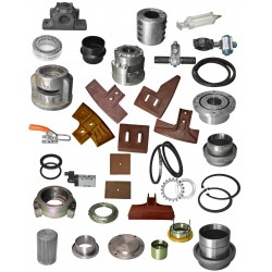 Batching Plant Mixer Parts